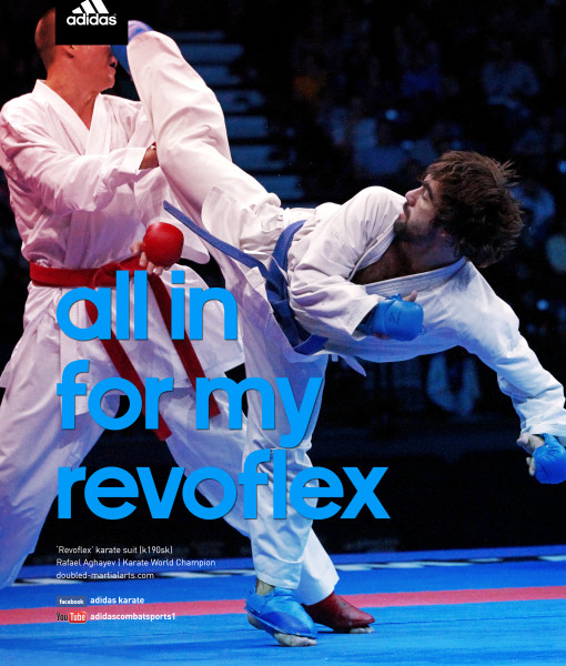 Karate ad rafael all in for my revoflex