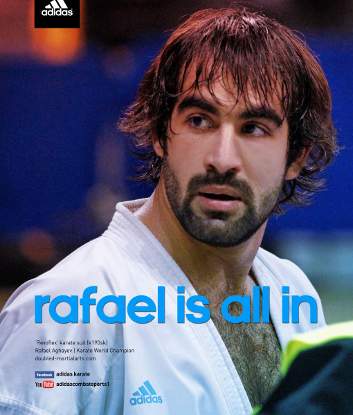Karate ad rafael is all in 02