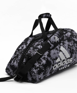 adiACC058 - 2IN1 BAG - GREY Camo - SIDE 01 - KARATE