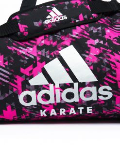 adiACC058 - 2IN1 BAG - PINK Camo - close up 01 - KARATE