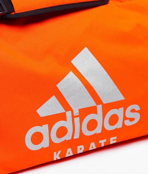 Torbaplecak Adidas karate pom.srebrna