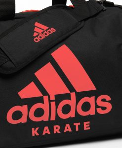 adiACC052 - 2IN1 BAG - BLACK-SOLAR RED - CLOSE UP 03 - KARATE