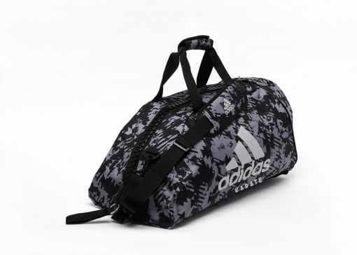 adiACC058 - 2IN1 BAG - GREY Camo - SIDE 01 - KARATE